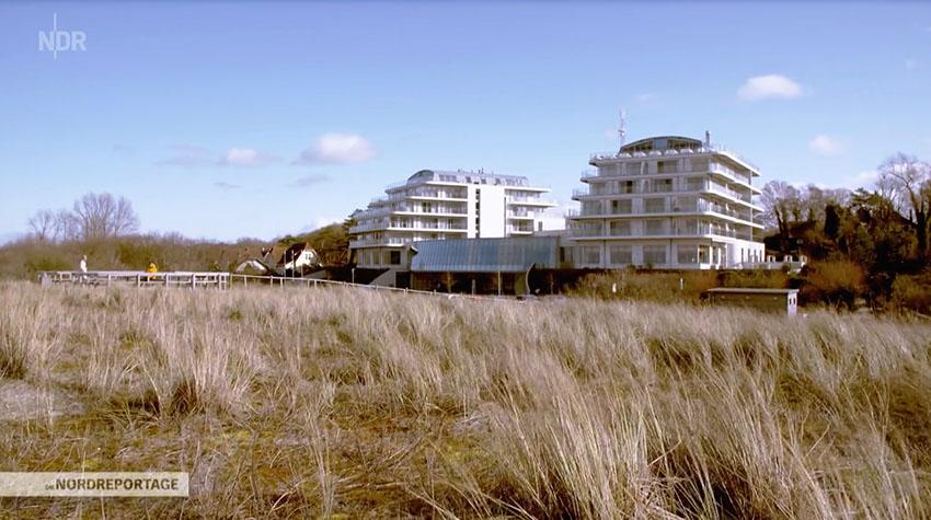Im THE GRAND an der Ostsee könnt ihr richtig schön die Seele baumeln lassen. © NDR