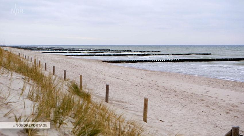 Ostsee soweit das Auge reicht: Besser geht es nicht. © NDR
