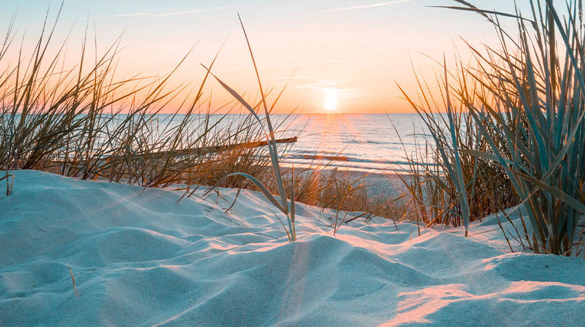 Die Ostsee bietet immer einen wunderschönen Anblick – egal zu welcher Jahreszeit.