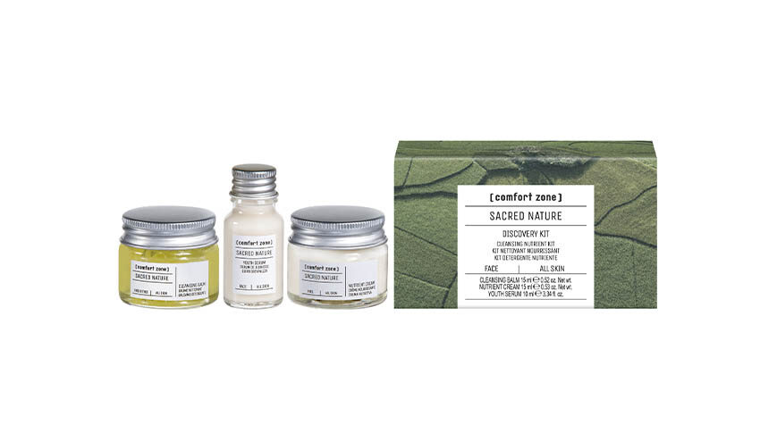 Die Sacred Nature-Produkte eignen sich auch hervorragend als Geschenk. © [comfort zone]