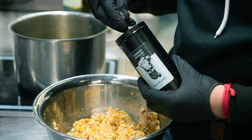 Die Gewürzmischungen aus der Captain Karacho-Serie eignen sich für eine Vielzahl an verschiedenen Gerichten.