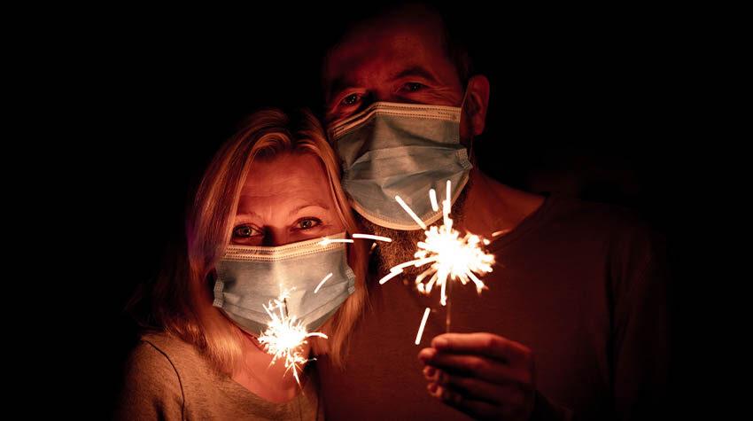 Feuerwerk verboten: Das ist in diesem Jahr an vielen Plätzen die Devise. © Shutterstock, Miriam Doerr Martin Frommherz